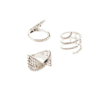 Statement Rings - 3 Pack