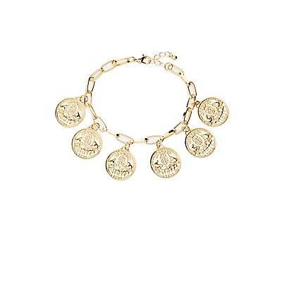 Coin Chainlink Bracelet