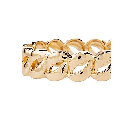 Chunky Chain Hinge Bracelet