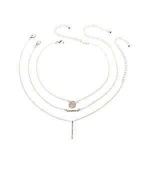 Crystal Trio Necklace