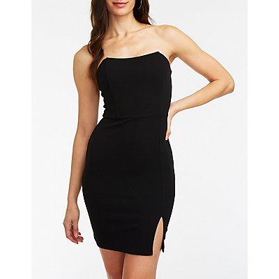 Wired Bodice Bodycon Dress