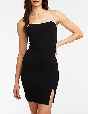Wired Bodice Bodycon Dress
