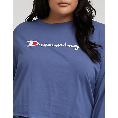 Plus Size Dreaming Graphic Tee