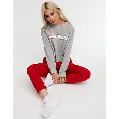 Graphic Statement Sweatshirt