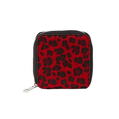 Leopard Bi Fold Wallet