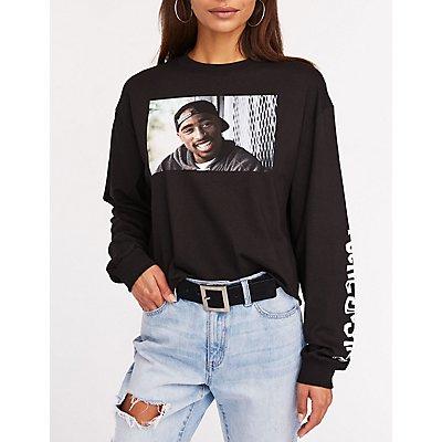 Tupac Poetic Justice Crop Tee