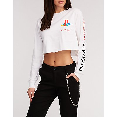 PlayStation Graphic Crop Tee