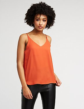 V Neck Cami Top