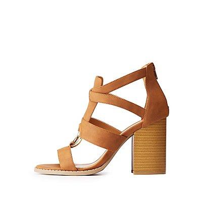 Qupid O Ring Sandals