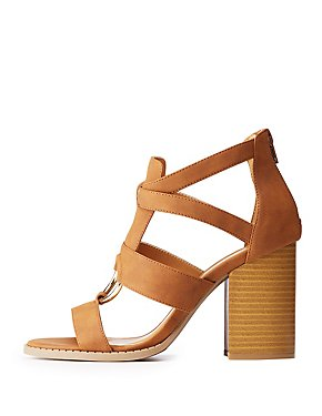 Qupid O Ring Sandals