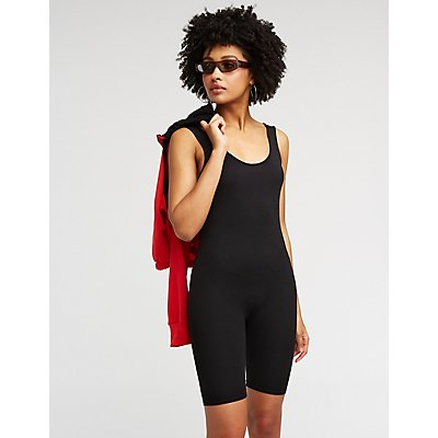 Bike Short Romper