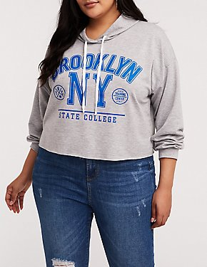 Plus Size Brooklyn NY Hoodie