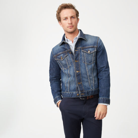 Men Outerwear Denim Jacket Club Monaco Canada