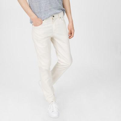 Men Jeans Super Slim Linen Pant Club Monaco