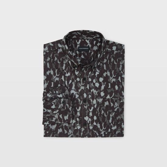 d32b0c06bb0 Slim Camo Flannel Shirt
