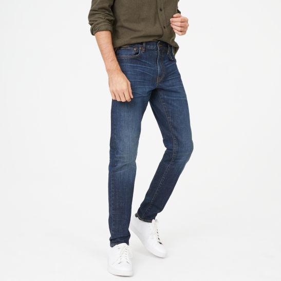 30e7c558fc0 Super Slim Dark Wash Jean