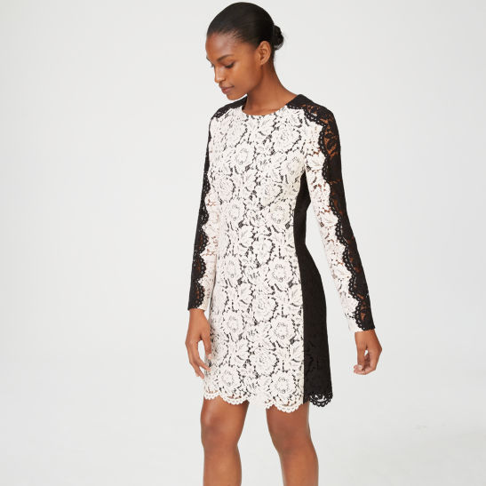 Womens Day To Night Renelliee Lace Dress Club Monaco