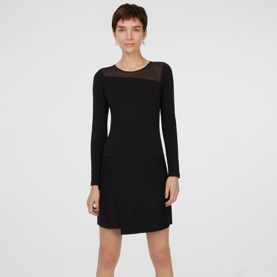 Womens Cocktail Shaylene Knit Dress Club Monaco