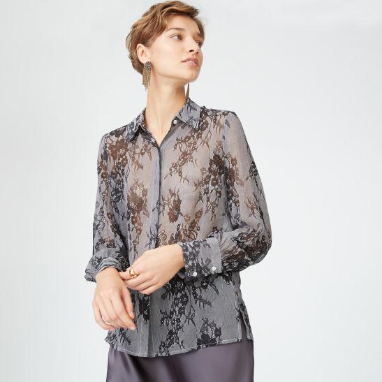 efa61476d611c4 Margee Silk Shirt
