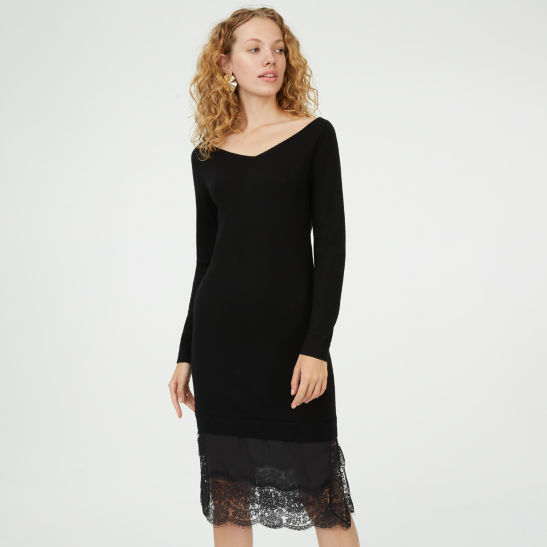 Womens Day To Night Tamila Sweater Dress Club Monaco