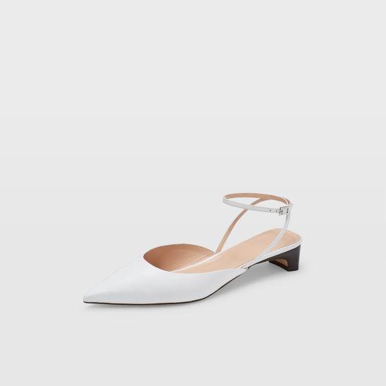 women flats ambrah low heel club monaco