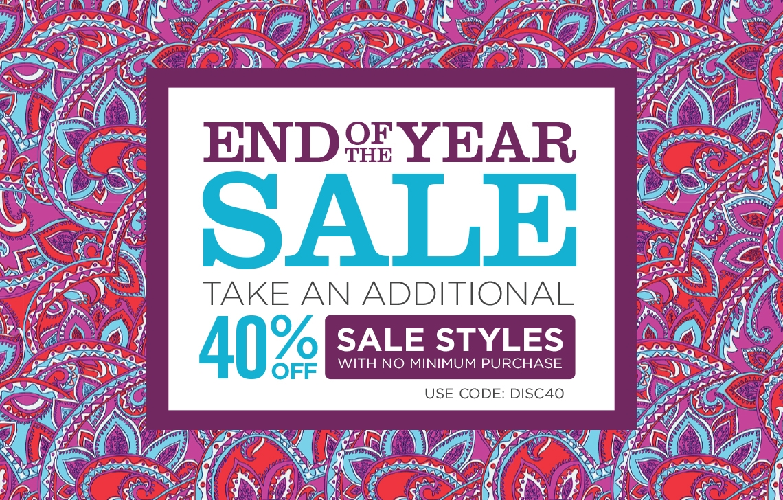 End of Year Sale - 40% off Sale: Use Code DISC40