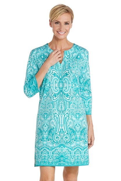 Oceanside Tunic Dress Sun Protective Clothing Coolibar