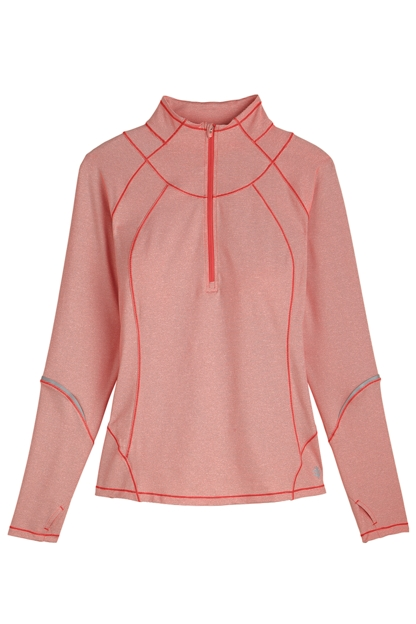 Golf pullover sun protective clothing coolibar for Sun protection golf shirts