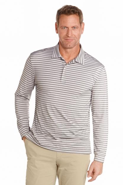 Long Sleeve Golf Polo Sun Protective Clothing Coolibar