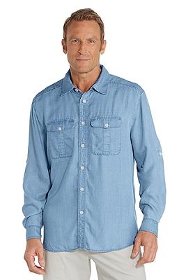 Men 39 s uv t shirts long sleeve shirts sun protective for Mens long sleeve uv protection shirt