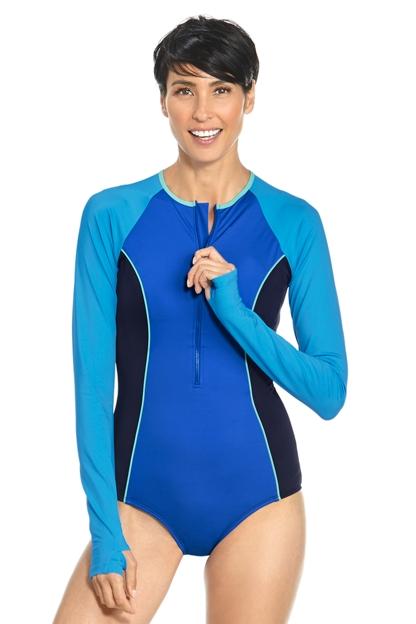 Long Sleeve Swimsuit UPF 50+: Sun Protective Clothing ...