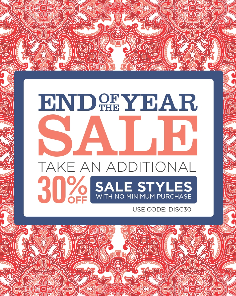 End of Year Sale - 30% off Sale: Use Code DISC30
