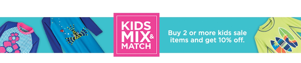 Kid's Mix & Match Sale - Buy 2+ Get 10% Off