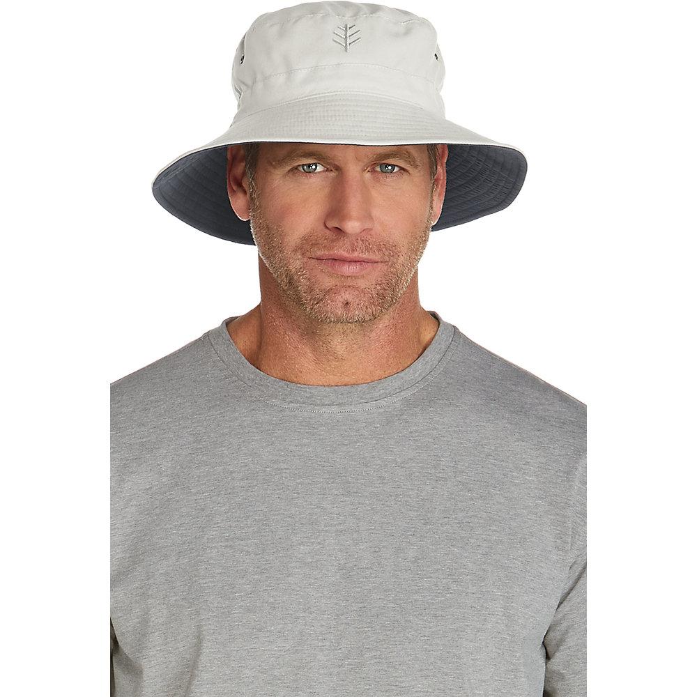 Coolibar UPF 50+ Men s Reversible Bucket Hat  5d1dba428ec