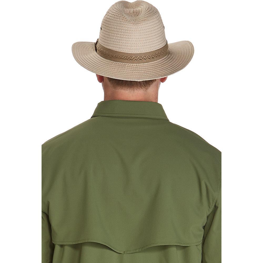 65452f5e4ce0d9 Coolibar UPF 50+ Men's Packable Travel Fedora | eBay