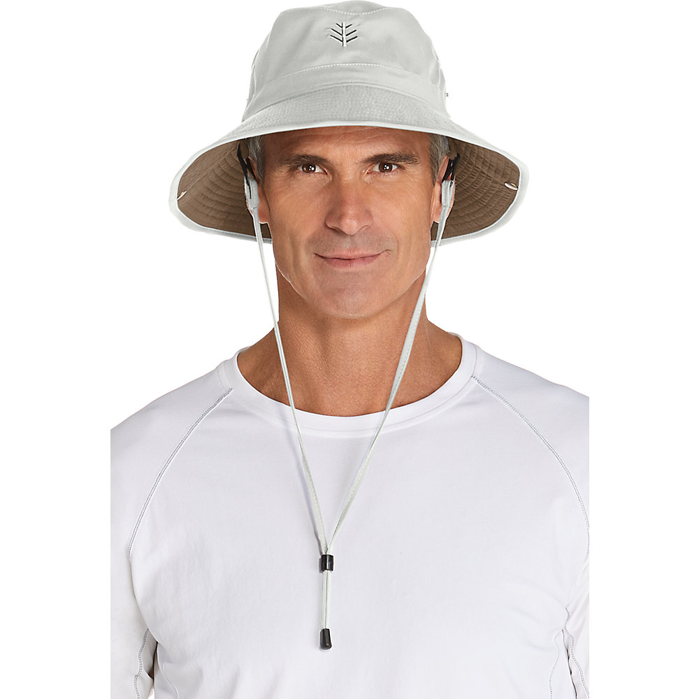 Coolibar UPF 50+ Men s Featherweight Bucket Hat  198323600565