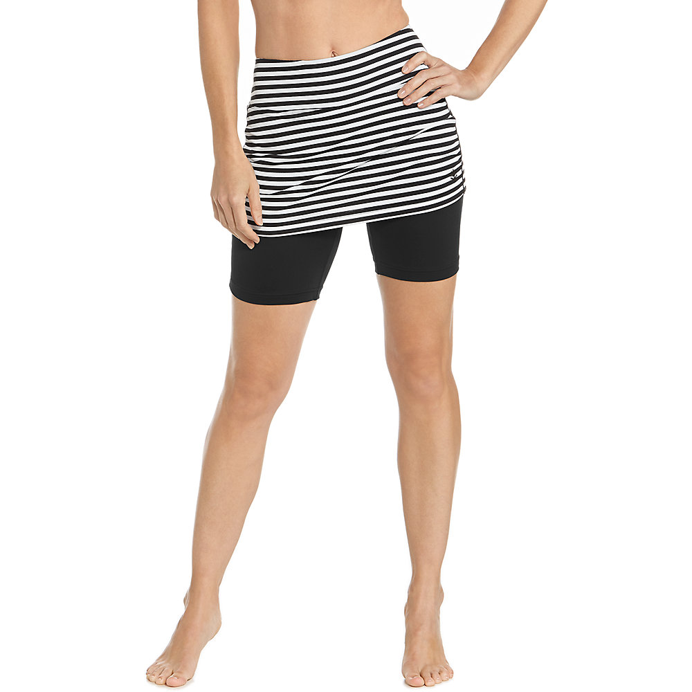 0f1b4a4d999 Coolibar UPF 50 Women s Shorebreak Skirted Swim Shorts - Sun Protective.  About this product. Picture 1 of 2  Picture 2 of 2