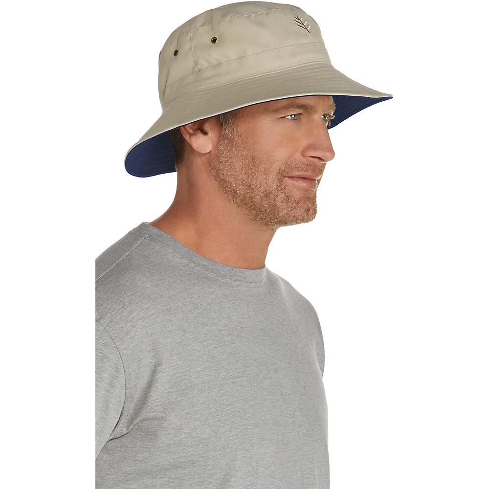 680ae21f766 Coolibar UPF 50+ Unisex Reversible Bucket Hat