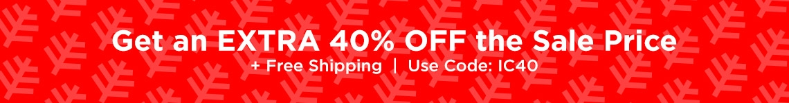 30% Off Sale Styles - USE CODE IC40