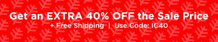 40% Off Sale Styles - USE CODE  IC40