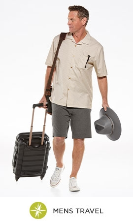 Men Shop By Activity - Travel