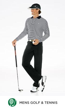 Men Shop By Activity - Golf & Tennis
