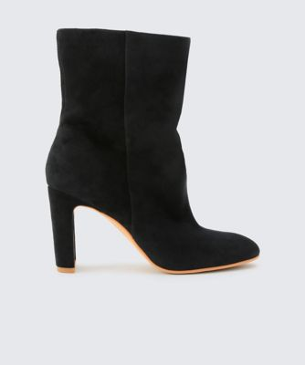 Dolcevita booties chase black side