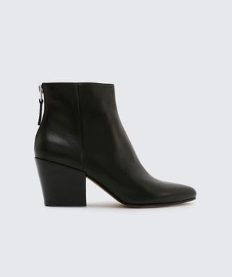 Dolcevita booties coltyn black side