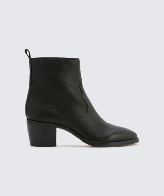 Dolcevita booties daliss black side