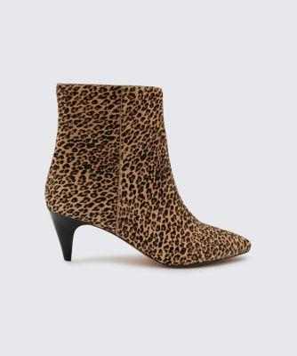 Dolcevita booties deedee leopard side
