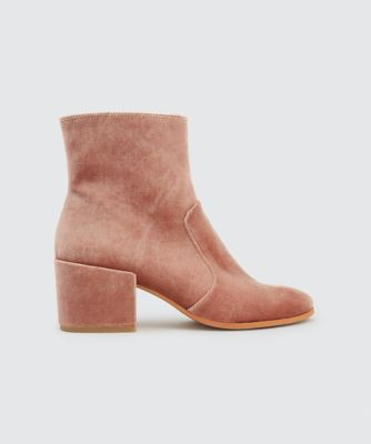 MAUDE BOOTIES ROSE