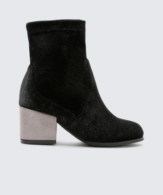 Dolcevita boots barlow pewter side
