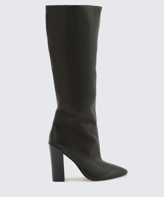 Dolcevita boots elan black side