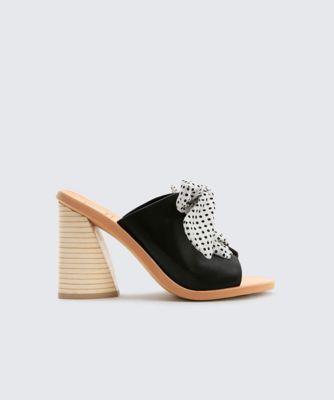 Dolcevita heels amber black side